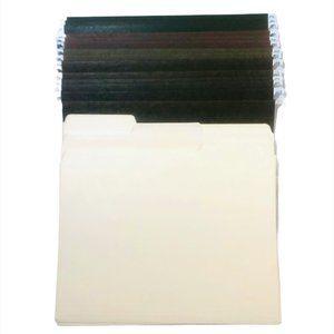 Green Hanging File Folder Letter Size